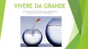 thumbnail of VIVERE DA GRANDE PRESENTAZIONE